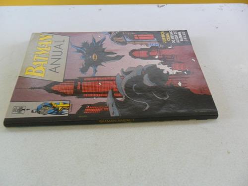 batman anual nº 1! ed. abril nov 1990!