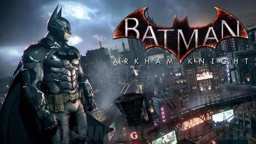 batman arkaham knight ps4 nuevo sellado remate