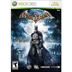 batman arkham asylum 3d xbox 360 nuevo envio gratis