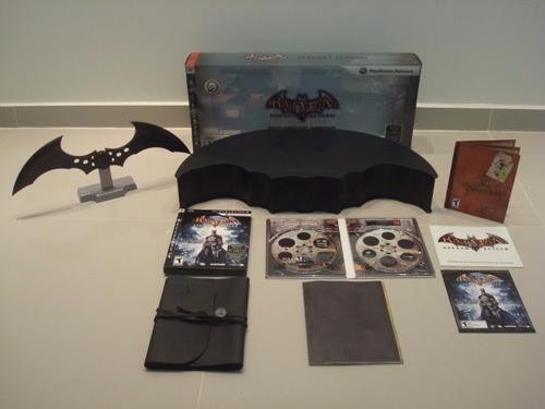 batman arkham asylum collector's edition- ps3 - completo!