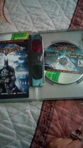 batman arkham asylum -juego -xbox 360
