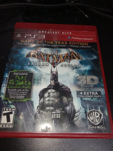batman arkham asylum ps3