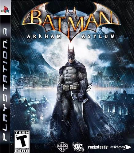 batman arkham asylum ps3 en español