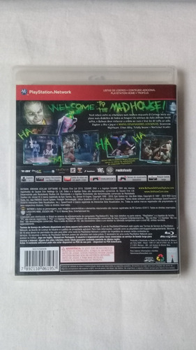 batman arkham asylum ps3 original