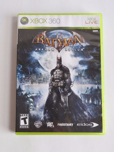 batman arkham asylum xbox 360 envio gratis