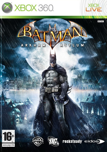 batman arkham asylum  - xbox 360 - usado