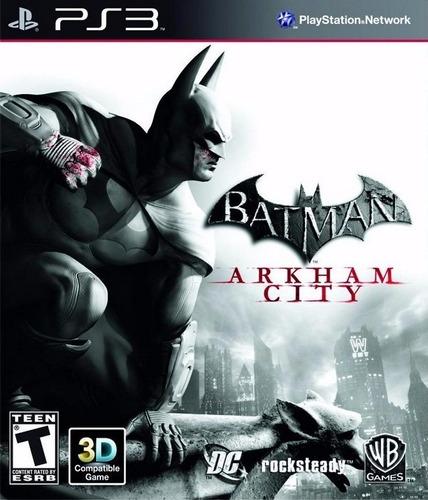 batman arkham city + dlc portugues ps3 psn - midia digital