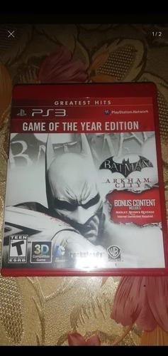 batman arkham city edición completa en español ps3