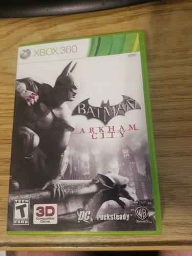 batman arkham city -juego -xbox 360