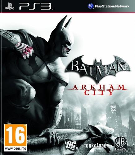 batman arkham city ps3 fisico sellado jazz pc