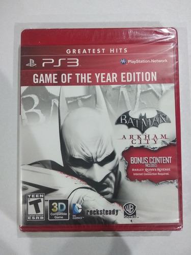 batman arkham city ps3 fisico sellado original sevengamer