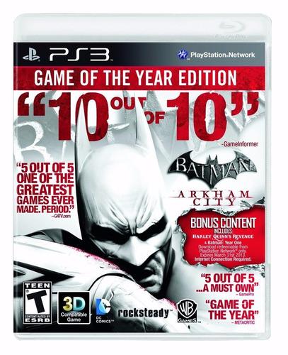 batman arkham city ps3 game of the year blakhelmet sp