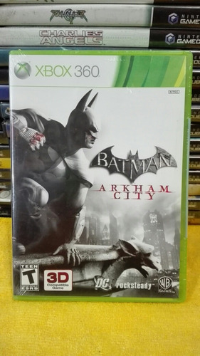 batman arkham city xbox 360 nuevo