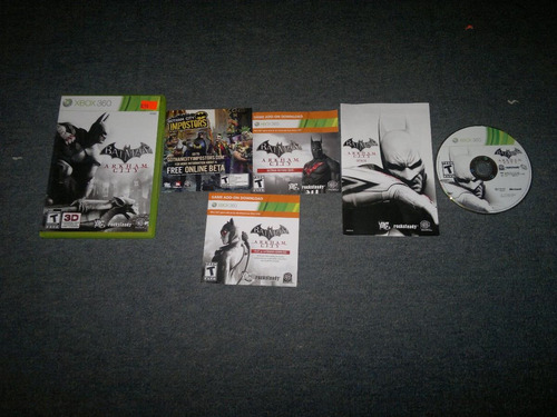 batman arkham city xbox