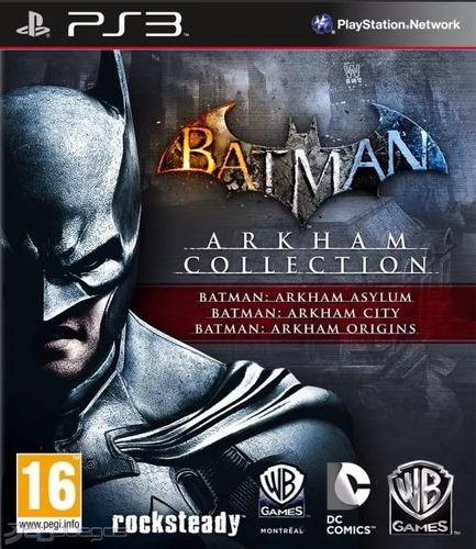 batman arkham collection ps3 asylum + city + origins