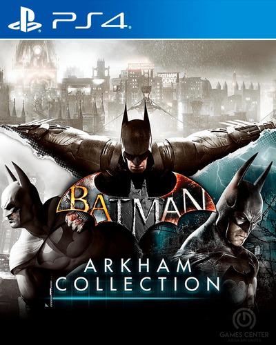 batman arkham collection ps4 digital gcp