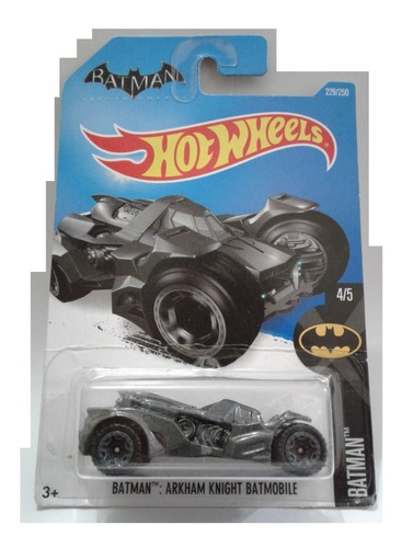 batman arkham knight batimovil hot wheels escala 1/64