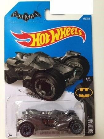 batman arkham knight batmobile batimovil hot wheels 229/250