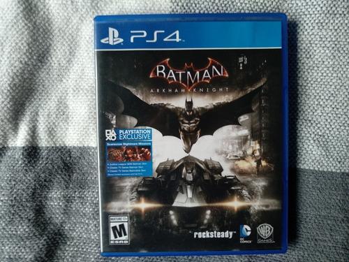 batman arkham knight juego ps4