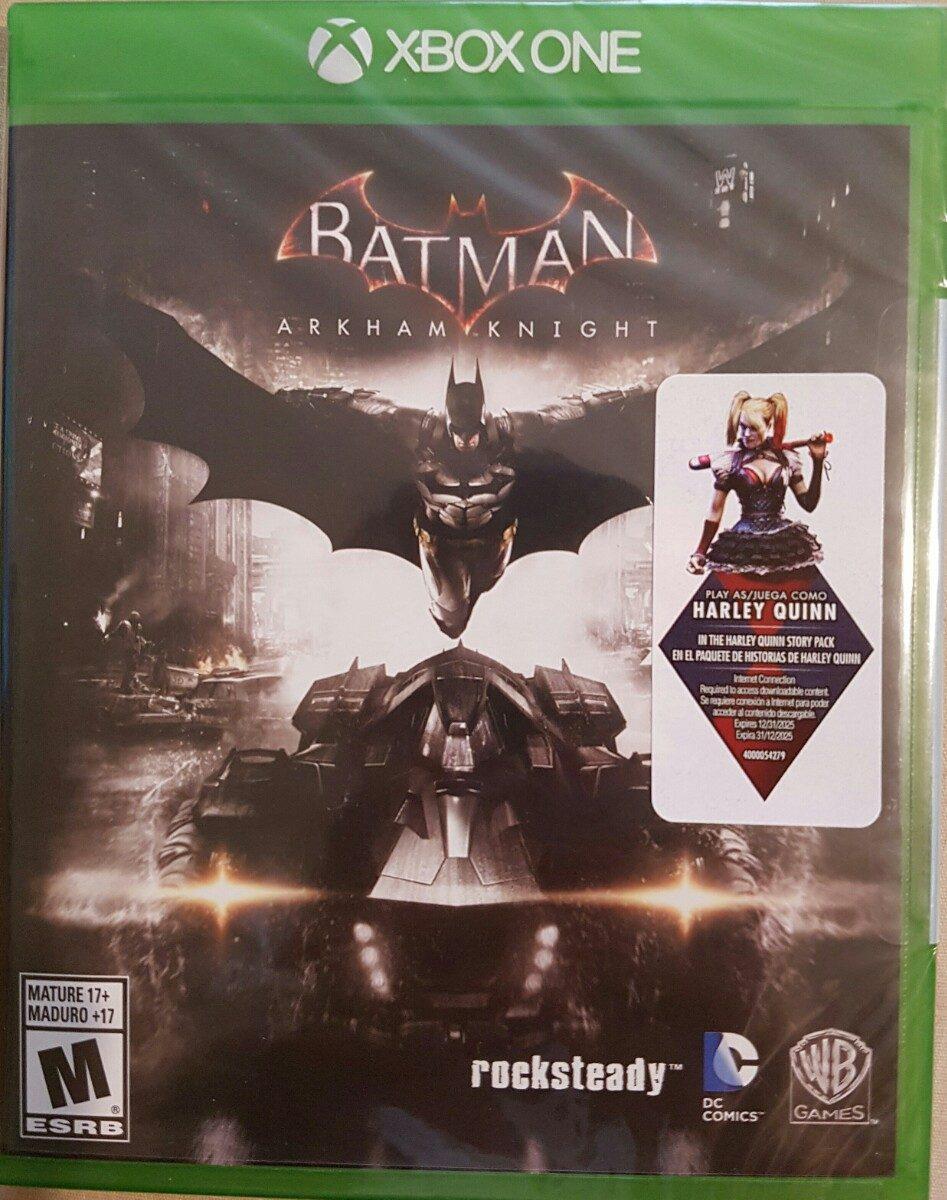 batman arkham knight para xbox one