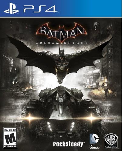batman arkham knight ps4 formato fisico juego playstation 4
