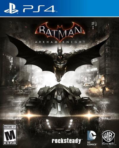 batman arkham knight (ps4) x 7 días!