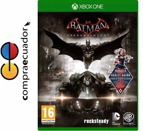 batman arkham knight xbox one juego original sellado xboxone