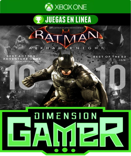 batman arkham knight - xbox one - n codigo