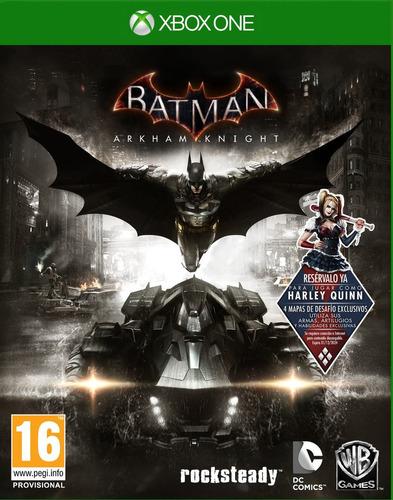 batman arkham knight xbox one nuevo sellado