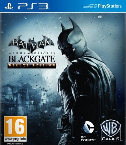batman arkham origins blackgate deluxe ps3 psn midia digital