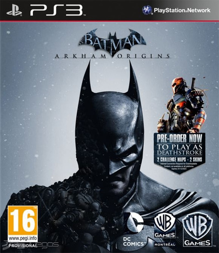 batman arkham origins juego ps3 playstation 3 original