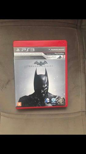 batman arkham origins original em mídia física para ps3