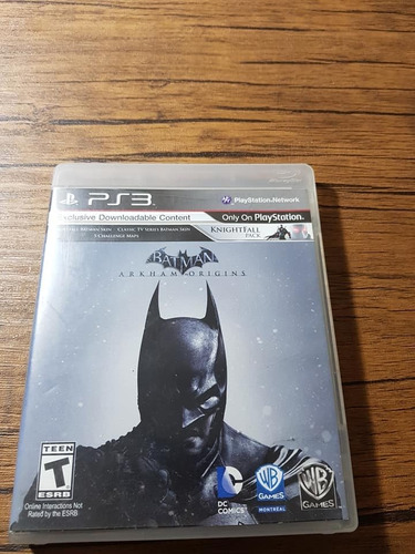 batman arkham origins playstation 3 ps3 buen estado !!