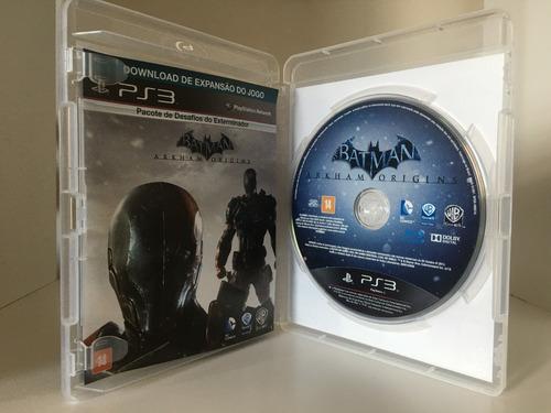 batman arkham origins - ps3 - mídia física original