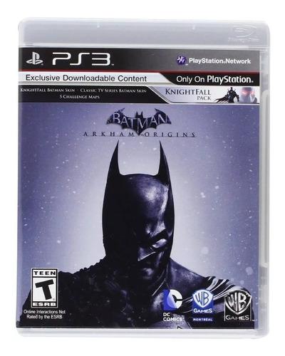 batman arkham origins ps3 original fisico sellado