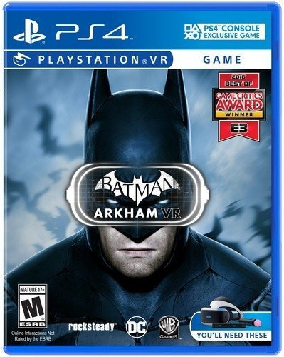 batman arkham vr playstation vr