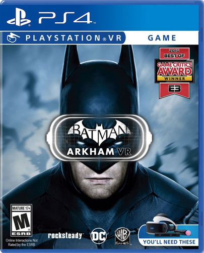 batman arkham vr ps4 - juego fisico