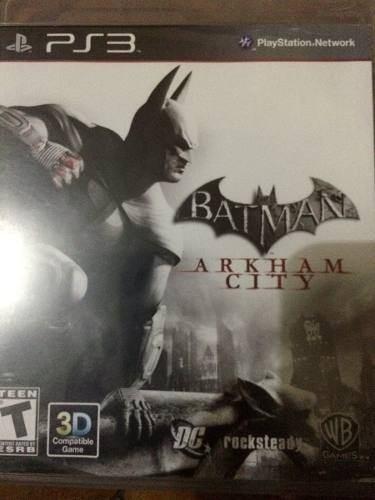 batman arkhan city ps3
