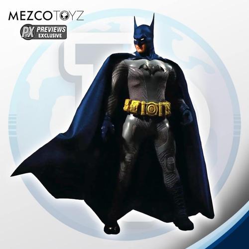 batman ascending knight one:12 px exclusive mezco- tierra pr