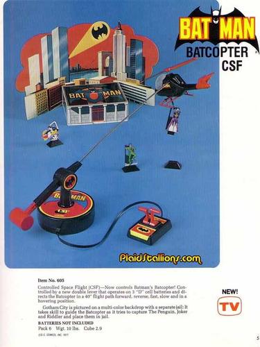 batman - baticopter remco