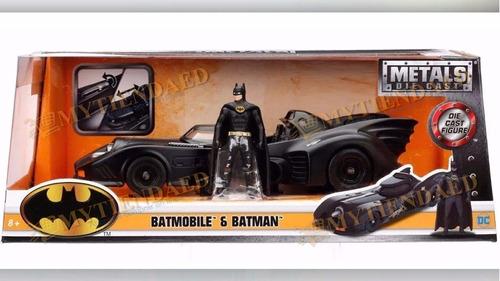 batman batimovil 1:24 jada metal diecast batmobile 6 mod dif