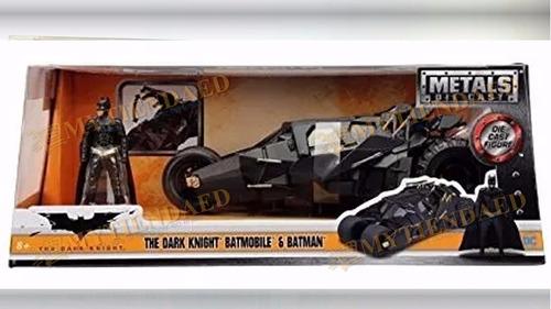 batman batimovil 1:24 jada metal diecast batmobile 6 modelos
