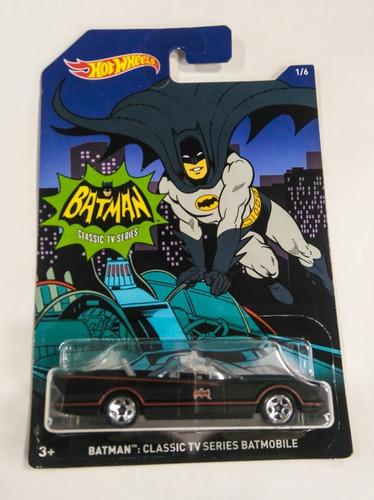 batman batimovil clasico classic tv escala 1/64 hot wheels