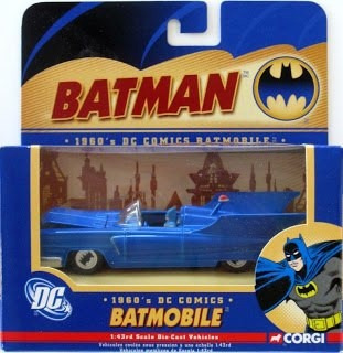 batman batimóvil corgi 1:43 2000s batmobile bmbv3