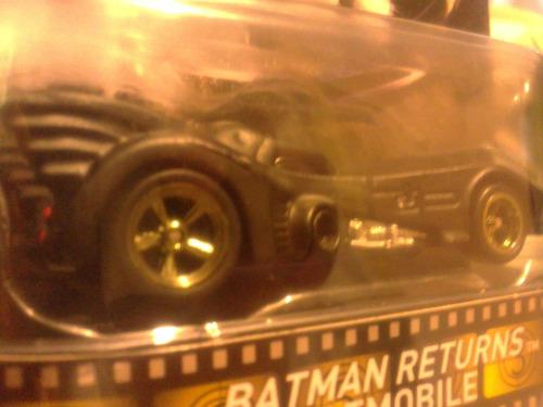 batman batimovil tim burton hot wheels llanta de goma retro