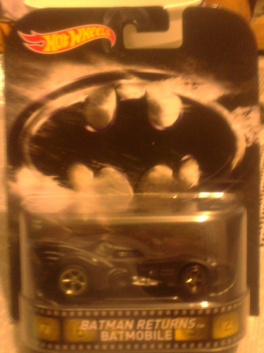 batman batimovil tim burton hot wheels llanta de goma retro
