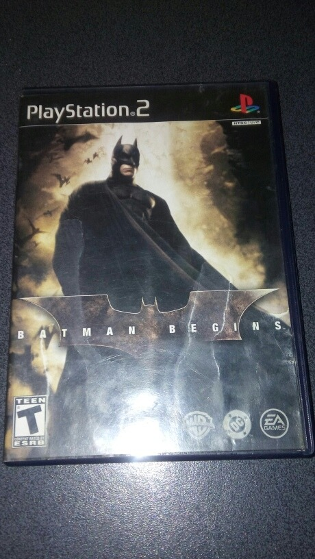 ps2 batman begins