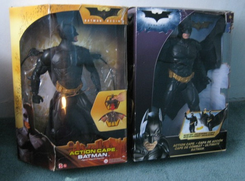 batman begins y the dark knight mattel 13 pulgadas