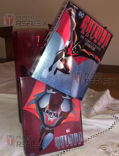 batman beyond bluray box (batman del futuro)
