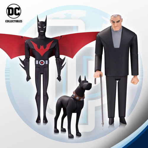 batman beyond pack triple dc collectibles- tierra prima